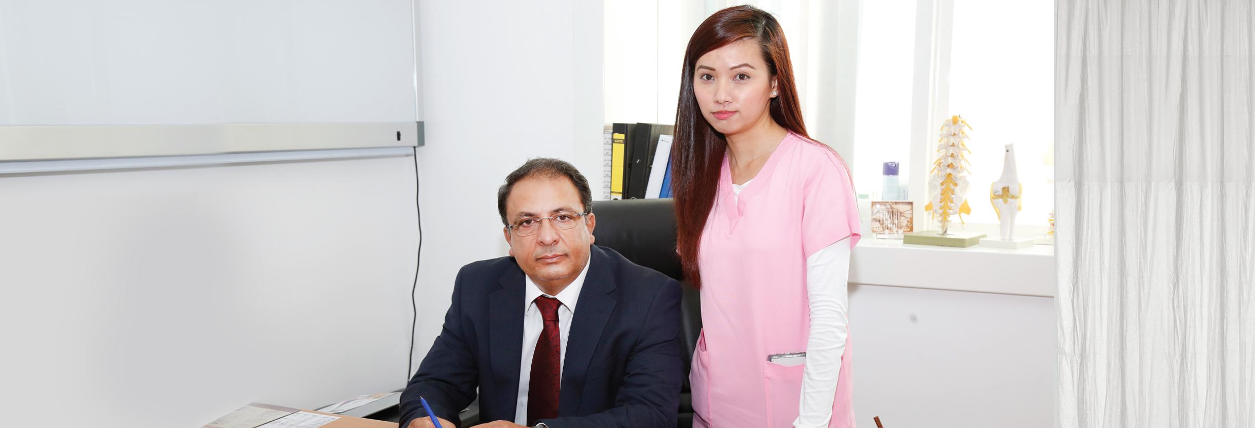 orthopaedic doctor in Abu Dhabi A